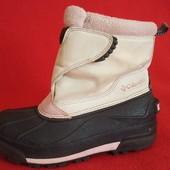 Фирменные термо ботинки Columbia p. 32 стелька 21 см