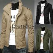 Мужская осенняя котоновая куртка. 5264