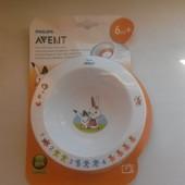 Тарелка маленькая Avent 6+ 130 грн