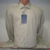 Распродажа мужской однотонной рубашки с длинным рукавом Piazza Italia Man