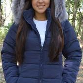 Куртка зимняя с искусственной чёрнобуркой, норма и батал 6949.Размер:44, 46, 48, 50, 52, 54 (1б