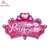 Корона для принцессы украшенная стразами  85 см.