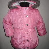 На 1,5-2 года Теплая куртка еврозима F&F девочке