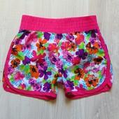 Яркие шорты для девочки. Размер не указан, смотрите замеры, ориентировочно 3-5 лет