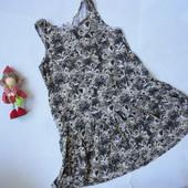 Платье сарафан Котики 4-6 лет     (дл 60см)