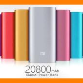 Повербанк Xiaomi 20800mAh .Серебро  в наличии !