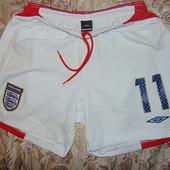 Фирменные оригинал спортивные шорты трусы .Umbro England