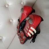 Оригинальные кожаные копачки adidas traxion