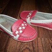 Мокасины туфли Стелька=16,5 см. Отличное состояние