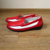 Waldlaufer р.41 туфлі мокасини балетки лофери шкіряні