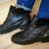 Ботинки  нат.кожа утепленны кожа Graceland 38-39р