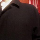 Класс длинное мужское пальто Rappson шерсть-100% Пог-66 см.