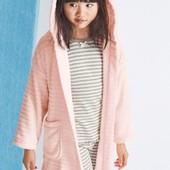 Розовий фактурний халат NEXT для дівчат 9 міс.-8 років