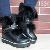 Классные зимние ботиночки с мехом