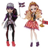 Набор ever after high Эпл Вайт и Рейвен Квин school spirit apple white raven queen