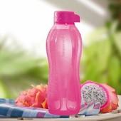 Tupperware эко-бутылка 500 мл розовая