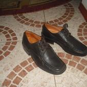 Туфлі бренду Camas 24,5 см 39 розмір шкіра Італія на шнурках