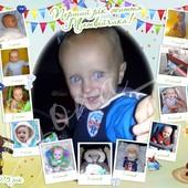 Плакат на детский день рожденья