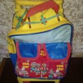 Рюкзак детский на колесиках