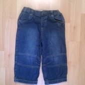 Фирменные джинсы на подкладке 1-1,5 года