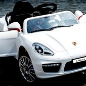 Электромобиль M 3176 ebr 1, мягкие EVA колеса, белый