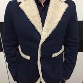 Мужской пиджак с мехом
