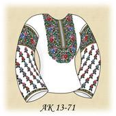 Наборы новых заготовок для вышивки бисером женской сорочки (80 моделей) 3