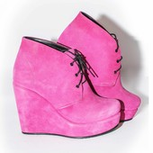 женские замшевые ботинки демисезон/зима Модель: Д -820