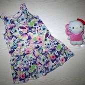 платье H&M котон 98/104см(2-4г)
