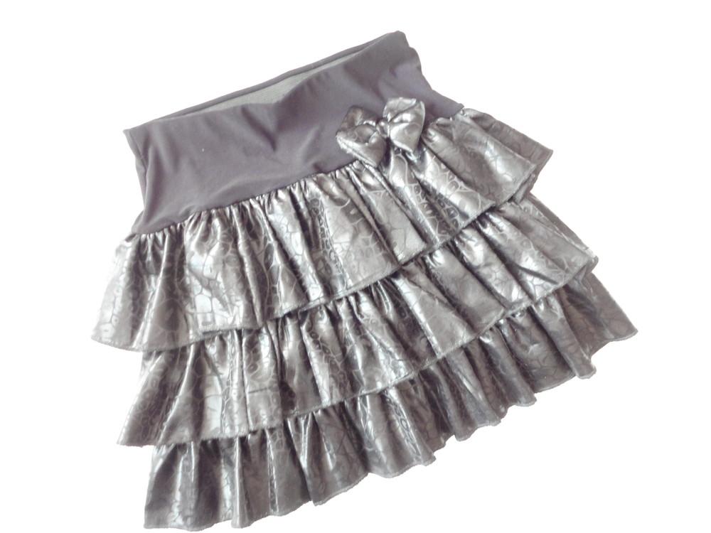 Черная юбка в школу школьная юбка 9-10 лет фото №1