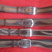 Кожаные ремни ручной работы Ширина 40 мм