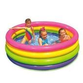 Детский надувной бассейн Intex 56441 Веселые колечки 168Х46СМ