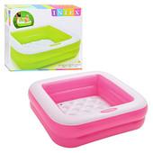 Детский надувной бассейн Intex 57100 85Х85х23СМ (2 цвета)