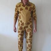 Человечек для дома флис жираф CedarWoodState р. М 48-50