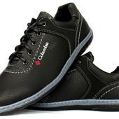 Мужские туфли спортивные стиль Коламбия (КТ-26кч)