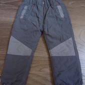 Утепленные штанишки, 2-3 года
