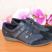 40 26см Кожаные мужские туфли, кроссовки Go Soft