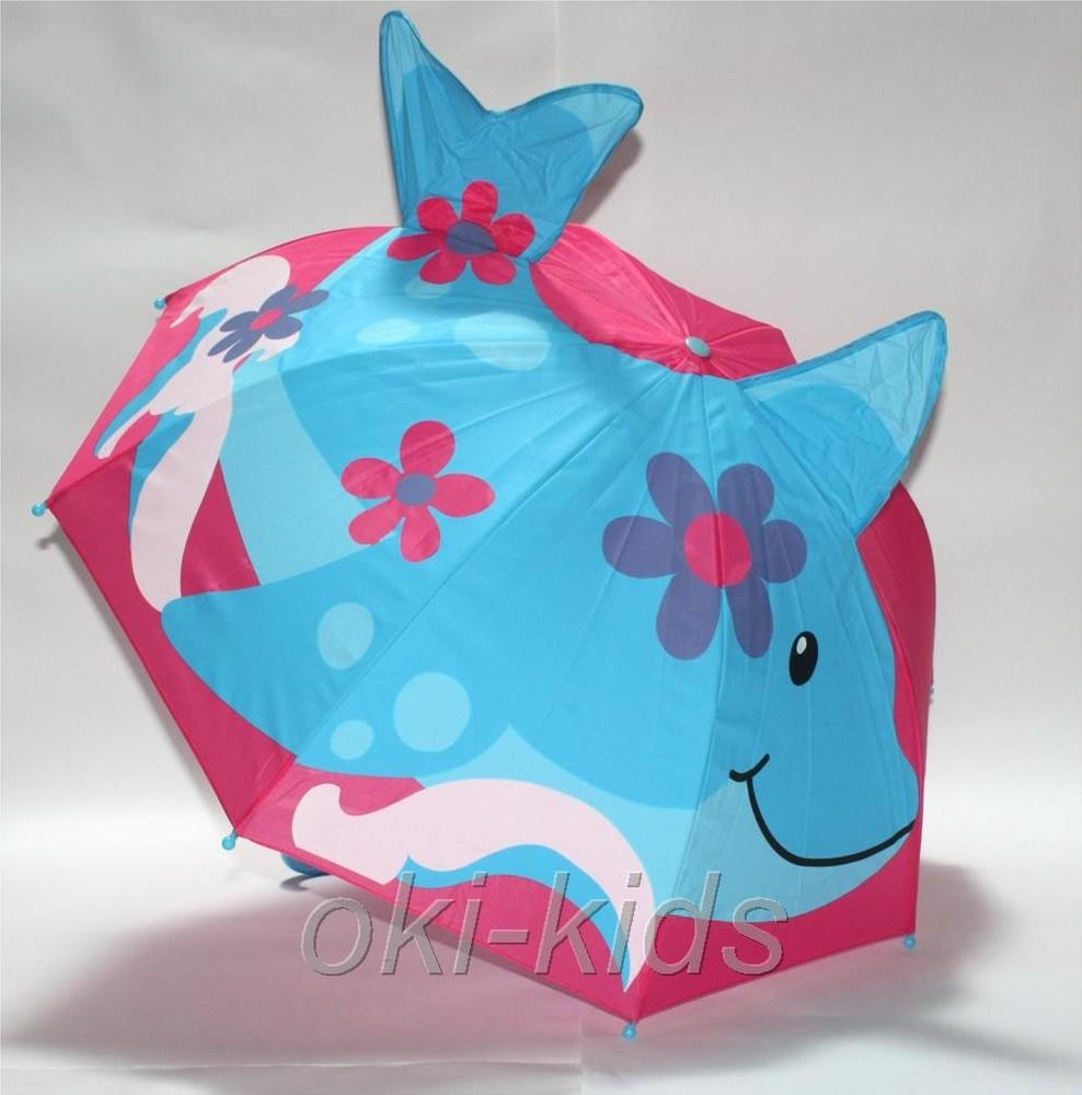 Зонтик детский, дельфин. фото №1