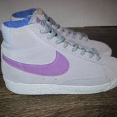 Замшевые кроссовки Nike р.31.5