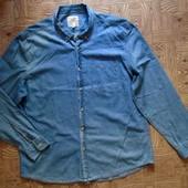 Джинсовая рубашка 52
