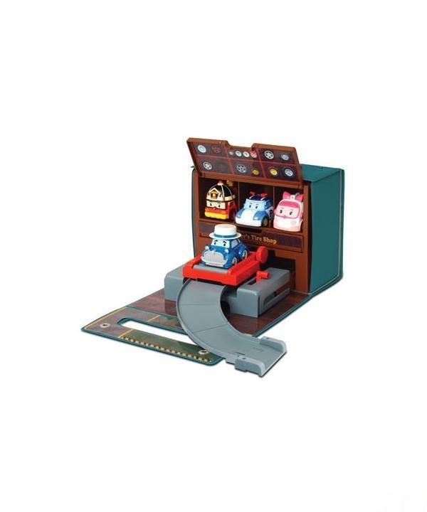 Robocar poli гараж-мастерская уиллера фото №1
