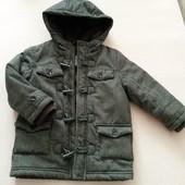 демисезонное пальто на мальчика 3 4 года