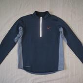 Nike Therma fit (S) флиссовая беговая кофта мужская