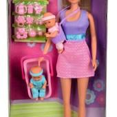 Кукла Штеффи Няня Розовая от Simba