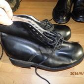 кожаные ботинки для широкой подьемистой ноги ст.28,5