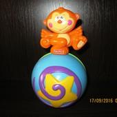 140 грн до 10.03!!! Мяч, неваляшка, музыкальная обезьянка Fisher price