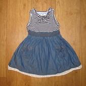 Фирменное платье Mayoral  на 12-18 мес