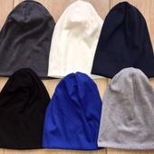 Удлинённые трикотажные шапки унисекс