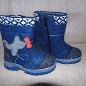 Теплющие валенки сапоги на овчине для мальчиков и девочек р.26-30 e2c545bdef409