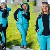 Размеры 50-56 Яркие теплые спортивные костюмы